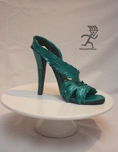My first life size Stiletto Shoe in Sugarpaste  Cake by Ciccio