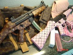 LV and GUCCI MP5's a Fashionable choice for self defence