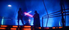 Sable laser de Star Wars, su nacimiento