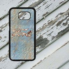 Blue Rusted Ford Emblem Design on Samsung by EastCoastDyeSub