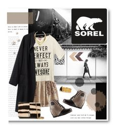 """Winners for The 1964 Premium Wedge from SOREL"" by polyvore ❤ liked on Polyvore featuring SOREL, Lucky Brand, Wet Seal, La Garçonne Moderne, Proenza Schouler, Jules Smith, Kevia, women's clothing, women and female"