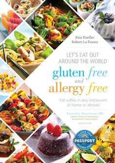 Let's Eat Out Around the World Gluten Free and Allergy Free Paperback – Gluten & Allergy Free Passport