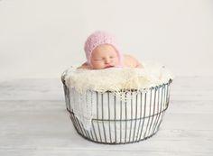 beautiful 6 day old newborn girl