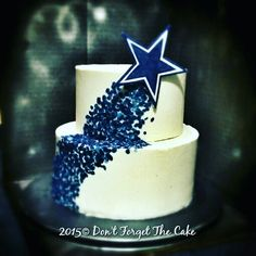 Dallas cowboys cake                                                                                                                                                                                 More