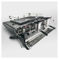 Espresso Coffee Machine, Cappuccino Machine, Coffee Cafe, Coffee Equipment, Cafe Shop, Coffee Machines, Black Body, Fans, Barista