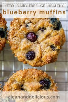This is one of the best recipe for fresh blueberries out there! Low carb, gluten-free, and dairy-free for a healthy soft and sweet sweet you will love. Perfect for summer and festivities. You will love these muffins with a blueberry crumble topping because they are so easy to make! This keto recipe is perfect for breakfast, brunch, or even as a snack!