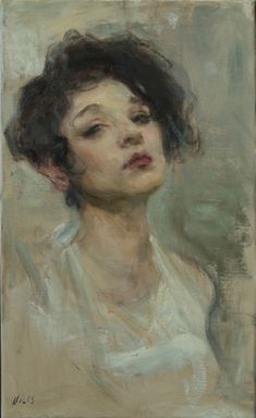 Diva In White by Ron Hicks