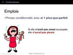 Conditionnel passé grammaire française