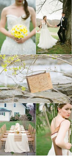 hunger games inspired wedding