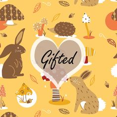 Georgina Ridler - Illustrator/Designer - Woodland Wonder Pattern - Gifted Compeition  #Illustration #Art #Illustrated #Illustrator #Design #Designer #Pattern #Mushrooms #Pattern #Competition #Entry #Submission #GeorginaRidler #Leaves #Rabbits #Heart #Cute #Pretty #Hedgehog #Digital #Decorative #Beautiful #Colour #Nature