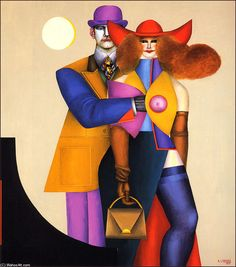 Another one from Richard Lindner.
