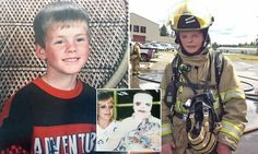 The courageous burns victim who became a FIREFIGHTER #DailyMail | See this & more at: http://twodaysnewstand.weebly.com/mail-onlinecom