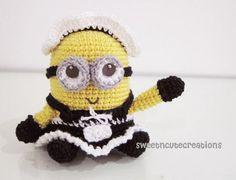 Free Amigurumi Frenchie the 2 eyed Minion Crochet Pattern « The Yarn Box