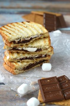 Love Campfire S'mores? Now you don't have to wait until you are camping to enjoy a S'more. Check out these amazing S'mores Dessert Recipes.