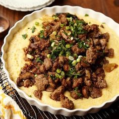 Sausage & Mushroom Polenta - You can't have breakfast without breakfast sausage. Breakfast sausage is our signature product at Jones Dairy Farm. Weuse the same ingredients that Milo Jones used more than 128 years ago when he started the company—pork, water, salt and spices. #certifiedpaleo #paleo
