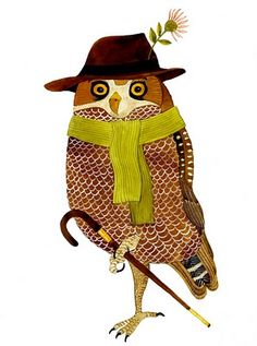 This owl's a dandy!