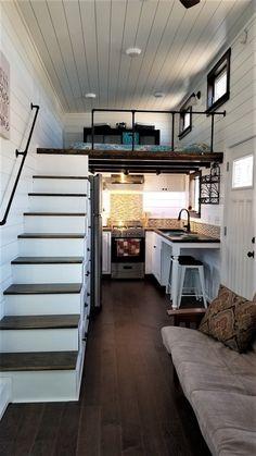 Home Decorators Collection Flooring Tyni House, Tiny House Loft, Tiny House Trailer, Modern Tiny House, Tiny House On Wheels, Tiny House Design, Small House Plans, Tiny House Listings, Tiny Houses For Sale