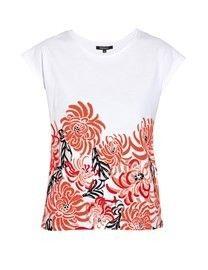 MorganTee-shirt motif floral taille XS ecru