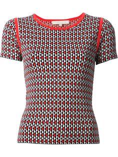 VANESSA BRUNO graphic knit sweater - £171 on Vein - getvein.com