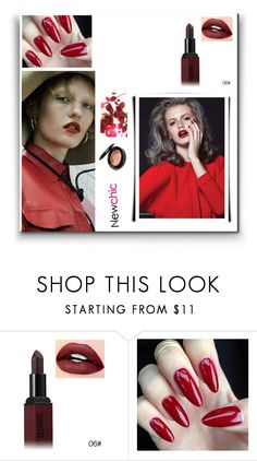 """""""Newchic 3/3"""" by minela-d ❤ liked on Polyvore featuring beauty"""