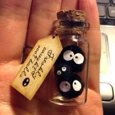 NEW! Family Soot Sprite! 2 large, baby soot ball. Spirited Away, Ghibli, Totoro