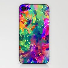 colorful phone cover. 2 Color spectrum man made