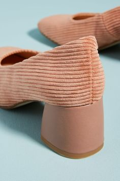 45040bc51df Slide View  4  Anthropologie Corduroy Block Heels