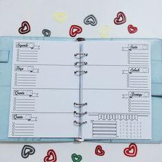 Arquivo gratuito para planner em português inspirado no bullet journal com controle de habitos