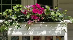 Porch flower box
