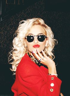 "When people refer to ""RiRi"", I always think they're referring to Rita Ora.  Cause she's a boss."