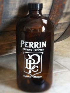 Perrin Brewing Co. in Comstock Park, Michigan - Where Boston rounds buddy up to the barrel.