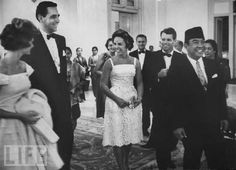 Robert F. Kennedy and wife at party with Sukarno. Life Pictures, Stock Pictures, Ethel Kennedy, Rare Images, Founding Fathers, Royalty Free Photos, Presidents, Culture, Bobby