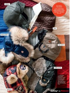 Warm heads gq.com
