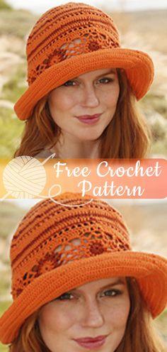Summer Harmony [CROCHET FREE PATTERNS] #crochet #freecrochetpattern #crochetamd #crochetlove #diy #tutorialcrochet #videocrochet #pattern Easy Crochet Hat, Finger Crochet, Crochet Beanie Hat, Crochet Cap, Crochet Scarves, Crochet Clothes, Free Crochet, Crochet Summer Hats, Sombrero A Crochet