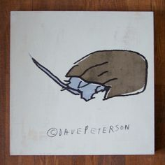 horseshoe crab screen print by dave peterson