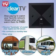 3. Indoor HD Antenna by Clear TV