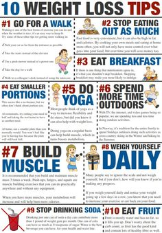 10 Weight Loss Tips!