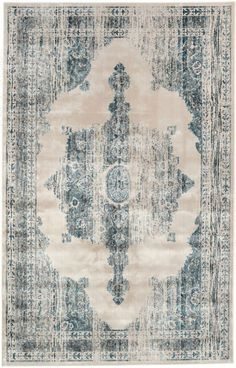 Beaumont Medallion VI05 Ivory Rug | Traditional Rugs