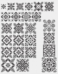 Lace Patterns, Mosaic Patterns, Embroidery Patterns, Cross Stitch Patterns, Knitting Charts, Knitting Patterns, Sewing Patterns, Crochet Patterns, Mittens Pattern
