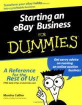 If you want to start an eBay business then this book is the one for you.  Check out my website at http://www.rickgrubb.com for more information about starting an online business.