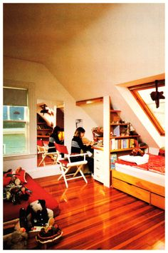 Attic Children's Room, 1982