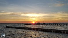 A beautiful sunset over the sound in Kill Devil Hills. #OuterBanks #OBX #KillDevilHills #Sunset