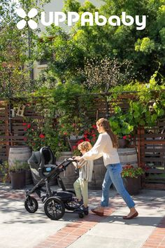 This innovative stroller folds easily with the push and twist of just one hand! Also stands when folded.