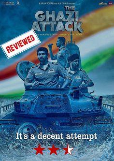 It's a decent attempt. #TheGhaziAttack' #RanaDaggubati #TaapseePannu #KayKayMenon #DharmaProductions #AtulKulkarni #PNSGhazi #Submarine #SankalpReddy #KaranJohar