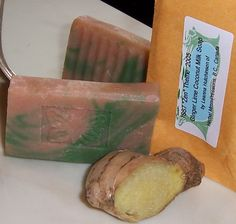 Leanna's Ginger Lime Coconut Milk - An ISS7 Soap Recipe | Natural Soapmaking (once Soap Naturally) Recipes