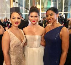 Jasmine Cephas Jones, Philipa Soo, and Renee Elise Goldsberry, Hamilton's original Schuyler Sisters, at the Kennedy Center Honors. Photo by Nicole Hertvik. Hamilton Broadway, Hamilton Musical, Hamilton Schuyler Sisters, Philippa Soo, Jasmine Cephas Jones, Anthony Ramos, Theatre Nerds, Theater, And Peggy