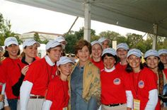 Laura Bush, Junior League of Austin, TX.