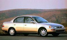 1996 Toyota Corolla front 3-4