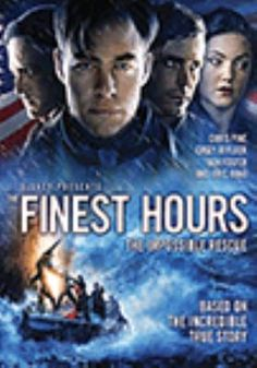 Cover image for The finest hours [DVD]