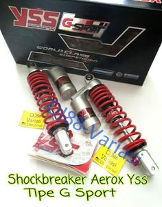 GREAT shock breaker YSS G sport Yamaha aerox 155 Sokbreaker tabung shockbreaker tabung stelan aksesoris aerox 155 PNP